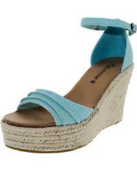 BEARPAW - Women's Blossom Tiffany Blue Ankle-high Fabric Sandal - 9m - Lyst