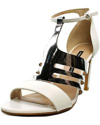French Connection - Lia Women Open Toe Leather Sandals - Lyst