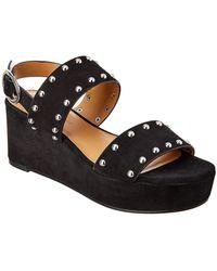 Rebecca Minkoff - Ilea Leather Sandal - Lyst