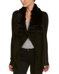 Fate - Draped Cardigan - Lyst