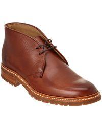 Frye - Men's James Lugg Leather Chukka Boot - Lyst