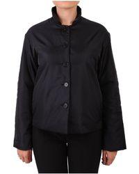 Aspesi - Women's Blue Polyamide Outerwear Jacket - Lyst