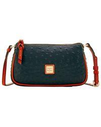 Dooney & Bourke - Ostrich Lexi Crossbody Shoulder Bag - Lyst