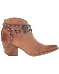 Matisse - Womens Zayne Pointed Toe Ankle Fashion Boots - Lyst