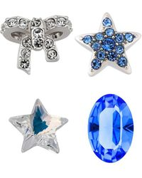 Swarovski - Crystal Treasure Plated Charms - Lyst
