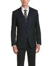 Robert Graham - 3pc Hiram Vested Wool Suit - Lyst