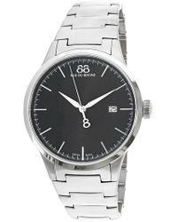 88 Rue Du Rhone - Men's Rive 87wa154112 Silver Stainless-steel Swiss Quartz Dress Watch - Lyst