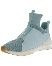 1ebfcfc2b017 PUMA - Women s Fierce Solstice Aquifer   Whisper White Ankle-high Training  Shoes - 9m