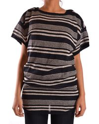 Twenty8Twelve - Gossip Women's White/black Wool T-shirt - Lyst