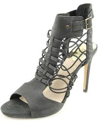 Vince Camuto - Fossel Open Toe Leather Sandals - Lyst