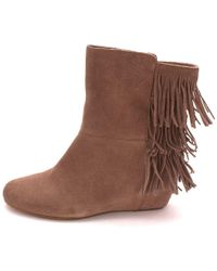Isola - Womens Tricia Leather Closed Toe Knee High Fashion Boots - Lyst