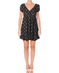 Denim & Supply Ralph Lauren - Womens Floral Print Short Sleeves Mini Dress - Lyst