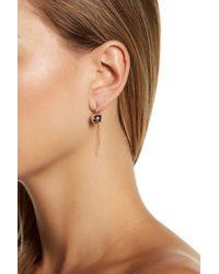 Adornia - Sterling Silver Bead Threader Earrings - Lyst