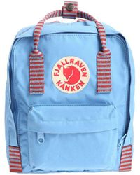 Fjällräven Kånken - Men's Light Blue Polyurethane Backpack - Lyst