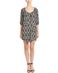T-bags - Los Angeles Printed Shift Dress - Lyst