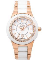 Aquaswiss - Women's Sea Star Semi-precious Watch - Lyst