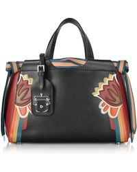 Paula Cademartori - Women's Black Leather Handbag - Lyst