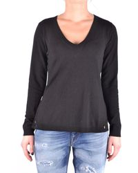 Twin Set - Women's Black Viscose Sweater - Lyst
