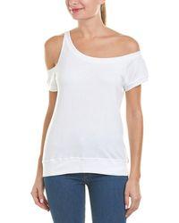 Pam & Gela - Cold-shoulder Sweatshirt - Lyst