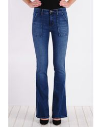 Henry & Belle - High Waisted Flare Jean - Lyst