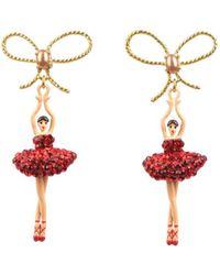 Les Nereides - Luxury Pas De Deux Earrings - Lyst