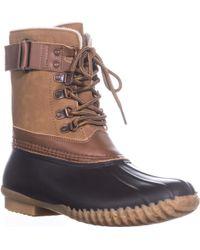Jambu - Jbu By Lined Rain Boots, Brown/whiskey - Lyst