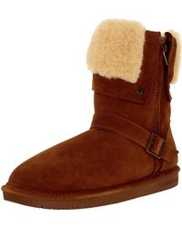 BEARPAW - Women's Madison Hickory Ankle-high Wool Boot - 6m - Lyst