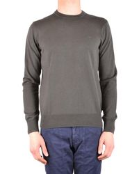 Armani Jeans - Men's Green Cotton Sweater - Lyst