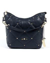 Andrew Charles by Andy Hilfiger - Andrew Charles Womens Handbag Dark Blue Tess - Lyst