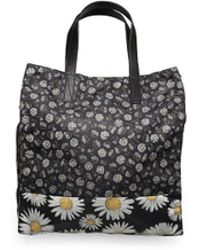 Marc Jacobs - Women¿s Polyester ¿byot Daisy Flower¿ Tote Bag Black - Lyst