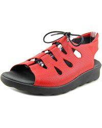 Wolky - Natu Women Open-toe Leather Slingback Sandal - Lyst