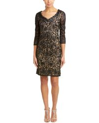 Sue Wong - Sheath Dress - Lyst