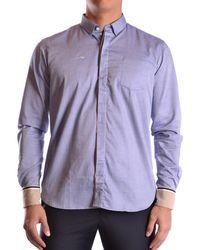 Etiqueta Negra - Men's Light Blue Cotton Shirt - Lyst