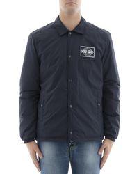 KENZO - Men's Blue Polyester Shirt - Lyst
