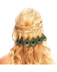 Kristin Perry - Peacock Feather Hair Grip - Lyst