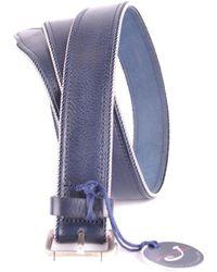 Jacob Cohen - Men's Blue Leather Belt - Lyst