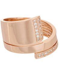 Effy - Fine Jewelry 14k Rose Gold 0.21 Ct. Tw. Diamond Ring, 7 - Lyst