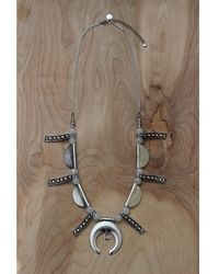 Love Leather - Love Train Necklace - Lyst