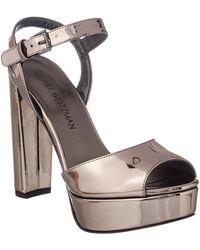 Stuart Weitzman - Sashay Patent Heeled Sandal - Lyst