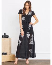 Lovers + Friends - Sea Goddess Dress In Black - Lyst