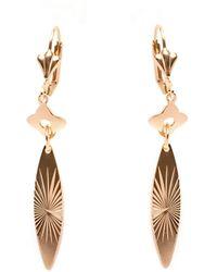 Peermont - Gold Drop Earrings - Lyst