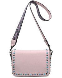 Bungalow 20 - Leah Crossbody In Pale Pink - Lyst