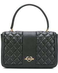 Love Moschino - Women's Black Polyester Shoulder Bag - Lyst
