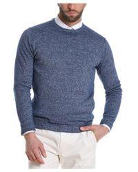 Cruciani - Men's Grey Linen Sweater - Lyst