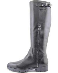 Carolinna Espinosa - Womens Eryca Leather Pointed Toe Knee High Fashion Boots - Lyst