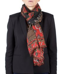 Givenchy - Women's Native American Pattern Virgin Wool Scarf Large - Lyst