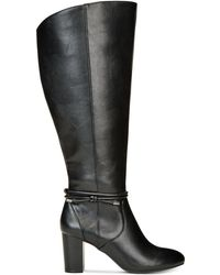 Alfani - Giliann Wide-calf Dress Boots - Lyst