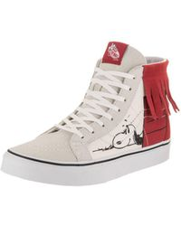 Vans - Unisex Sk8-hi Moc (peanuts) Skate Shoe - Lyst