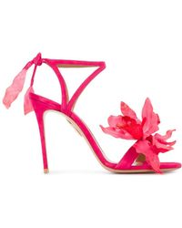 Aquazzura | Flora Sandals | Lyst