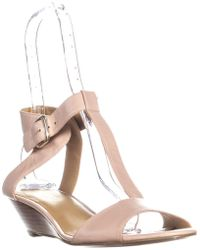 Nine West - Verucha Ankle Strap Wedge Sandals - Lyst